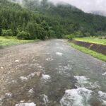 高水になるも河川状態は良好