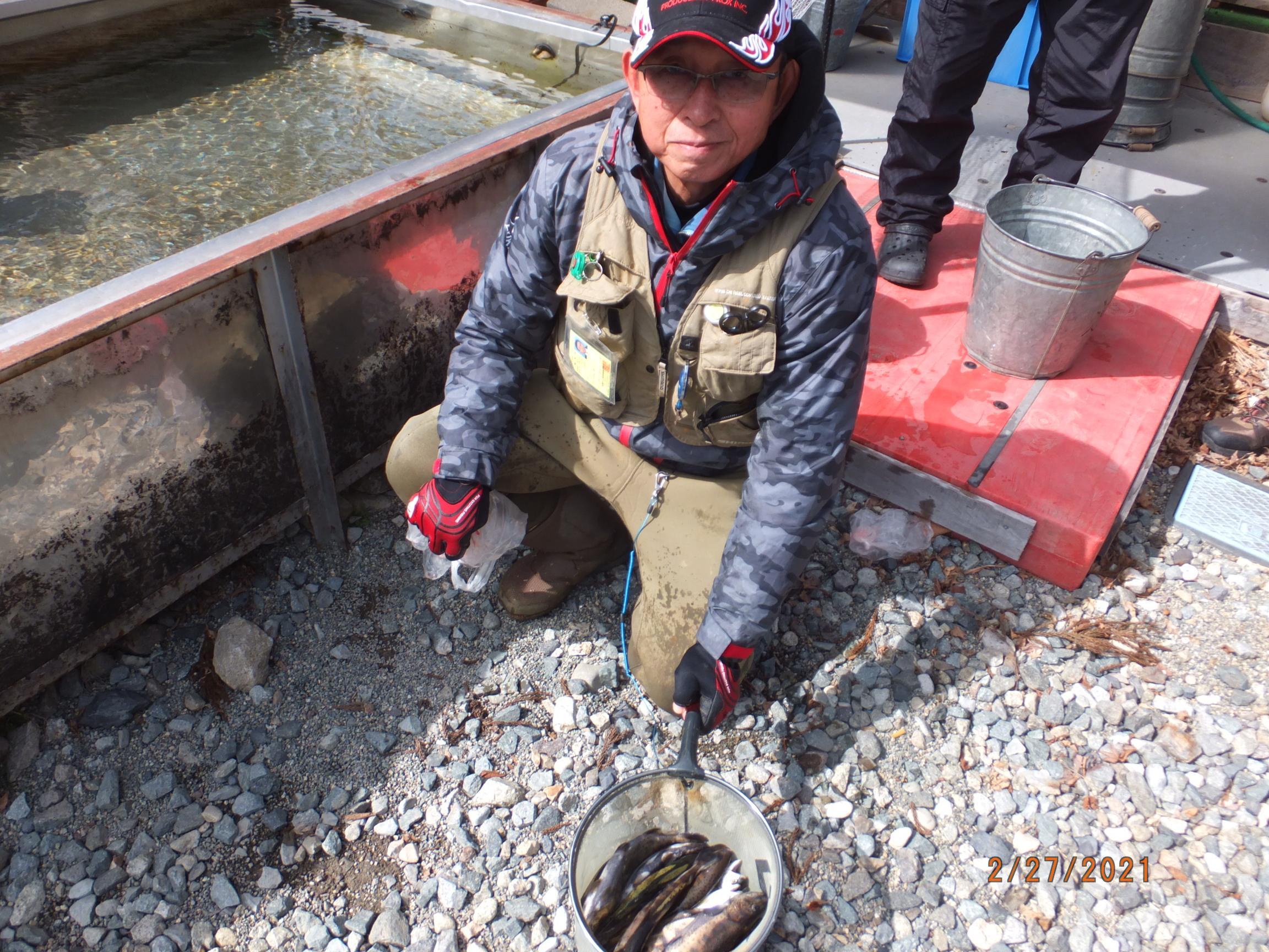 関市の横井さんの釣果です。